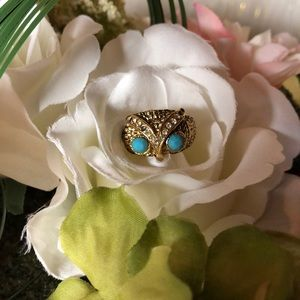 True vintage owl ring